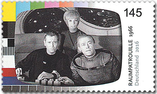 Deutsche Post Veröffentlicht Briefmarke Zu Raumpatrouille Orion