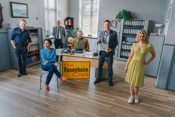 Drehstart Der 21 Staffel Mit 26 Neuen Folgen Die Rosenheim Cops Bavaria Film Gmbh